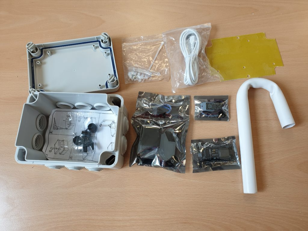 Air quality sensor kit